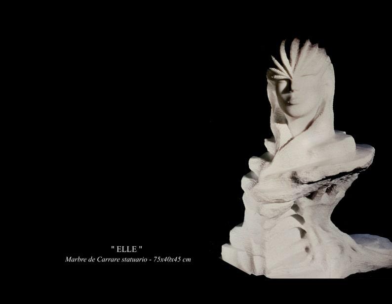 """15-Sculpture """" ELLE """""""