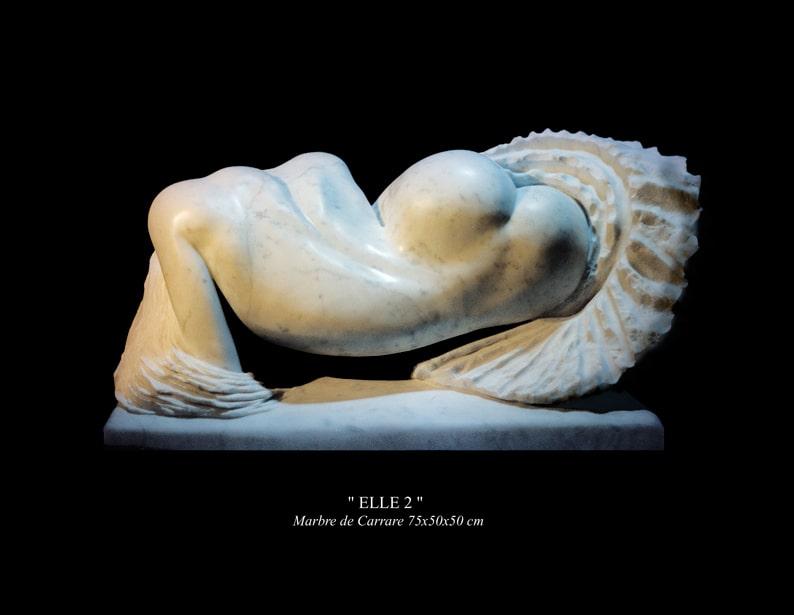"""18- Sculpture """" ELLE 2 """""""
