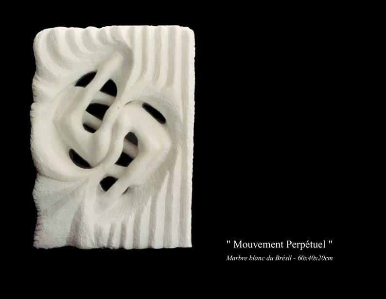 """24-Sculpture"""" Mouvement Perpétuel """""""