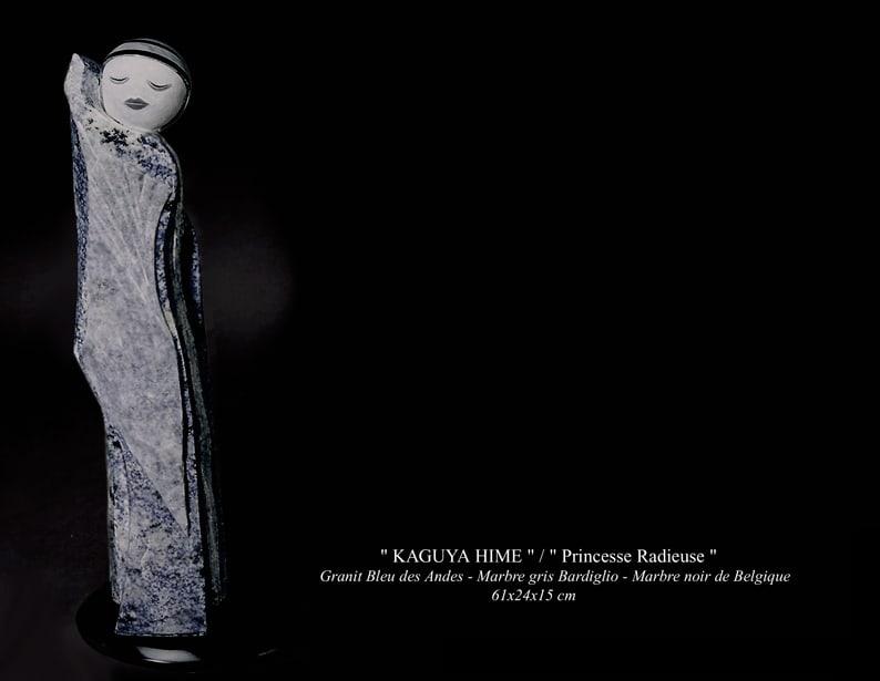 "Sculpture - "" KAGUYA HIME ""/ "" Princesse Radieuse """