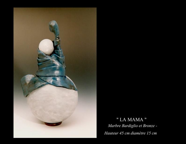 """32- Sculpture """" LA MAMA """""""