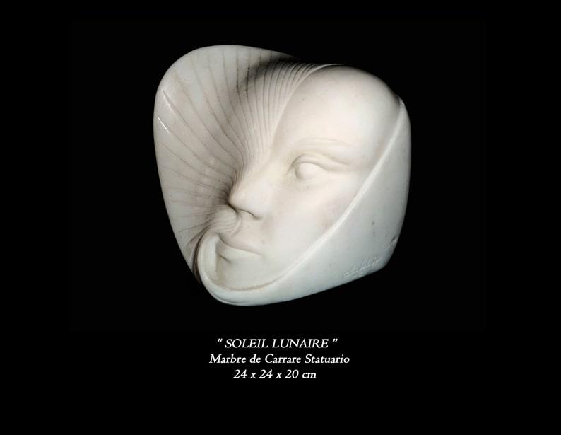 """40 - Sculpture """" SOLEIL LUNAIRE """""""