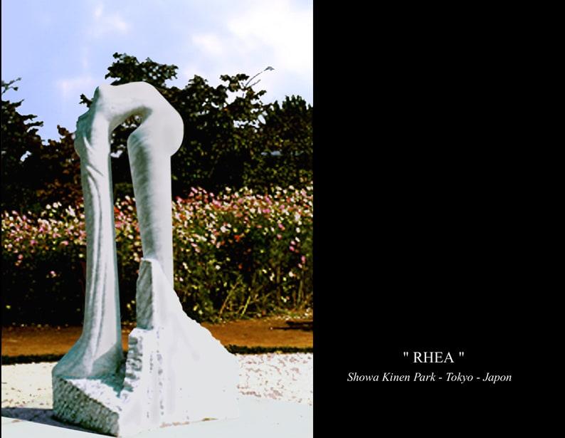 "5-Sculpture"" RHEA """