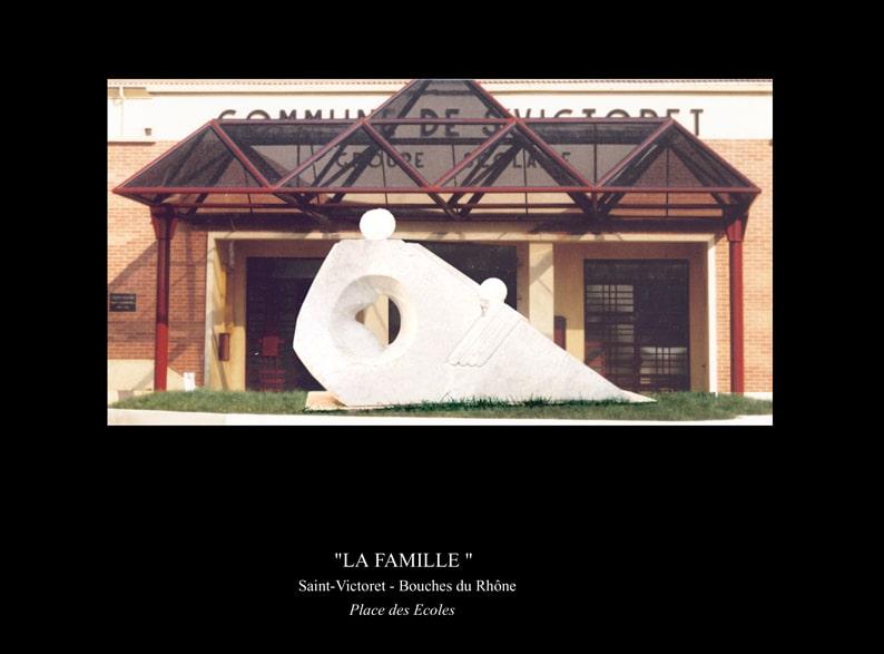 """7-Sculpture"""" La FAMILLE """""""